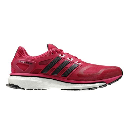 Womens adidas Energy Boost Running Shoe - Pink/Black 8.5