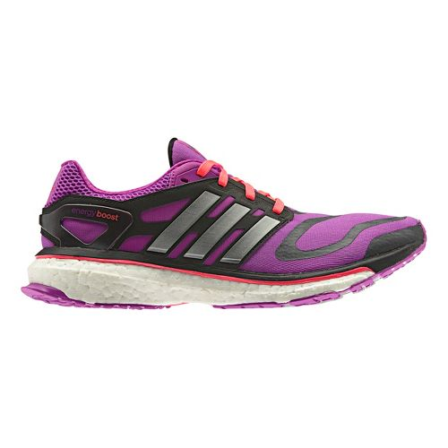 Womens adidas Energy Boost Running Shoe - Purple 7.5