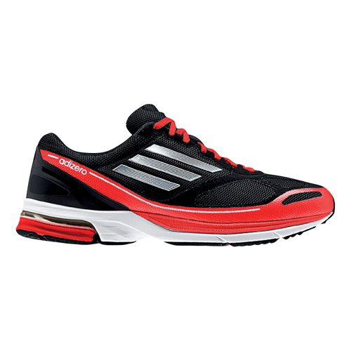 Mens adidas adizero Boston 4 Running Shoe - Black/Red 12.5