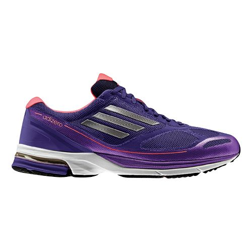 Womens adidas adizero Boston 4 Running Shoe - Purple 6