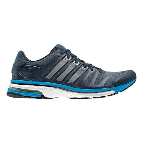 Mens adidas adistar boost Running Shoe - Blue/Grey 9