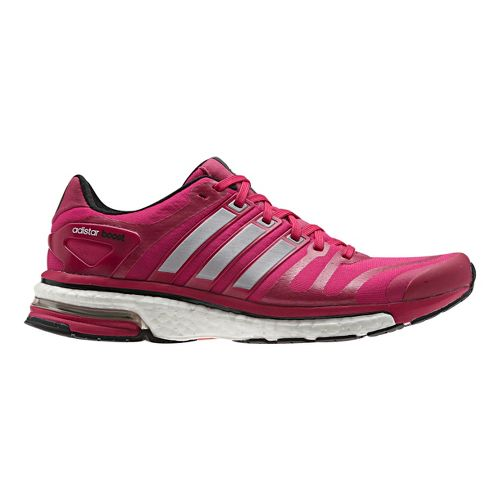 Womens adidas adistar boost Running Shoe - Pink/Silver 7