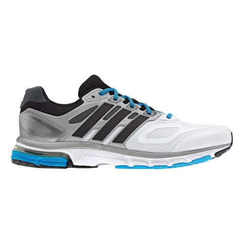 Mens adidas supernova Sequence 6 Running Shoe - White/Black 8
