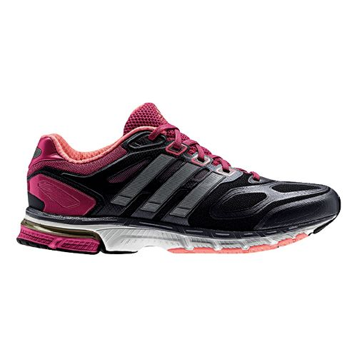 Womens adidas supernova Sequence 6 Running Shoe - Grey/Pink 9