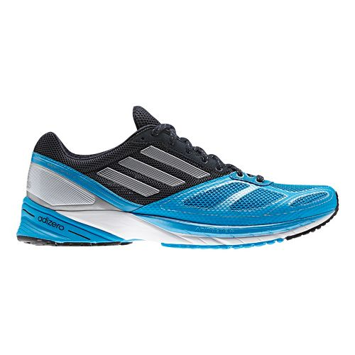 Mens adidas adizero Tempo 6 Running Shoe - Blue/Navy 13