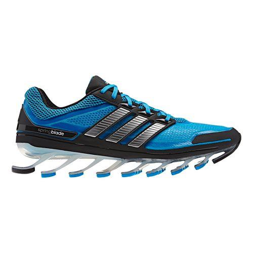 Mens adidas springblade Running Shoe - Blue/Silver 9.5