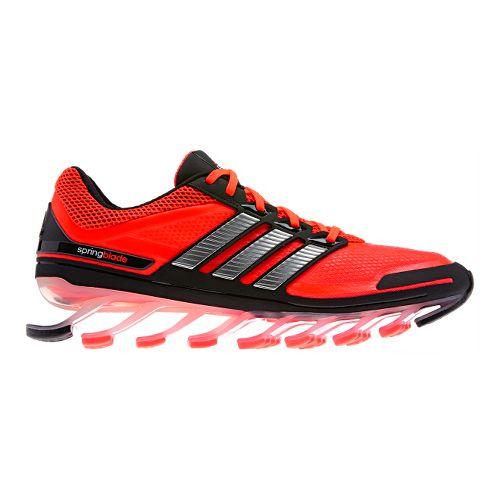 Mens adidas springblade Running Shoe - Red/Black 10