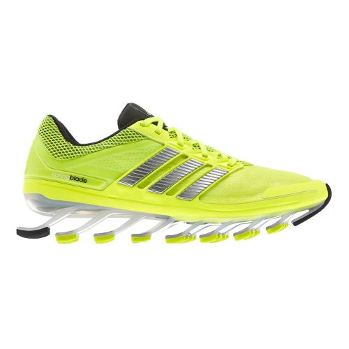Mens adidas springblade Running Shoe - Yellow/Black 10
