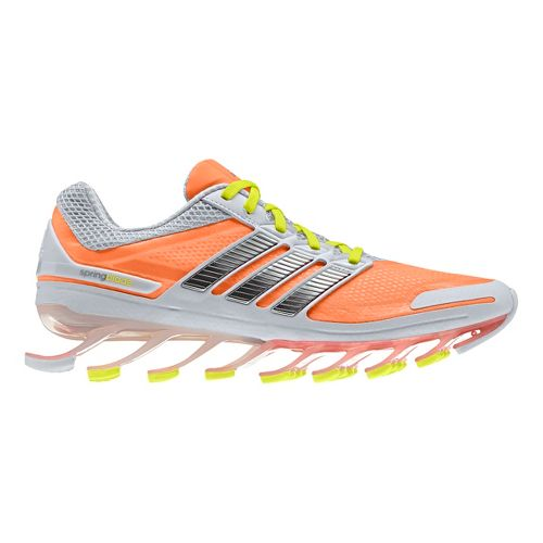 Womens adidas springblade Running Shoe - Bright Orange/Silver 7.5