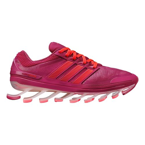 Womens adidas springblade Running Shoe - Pink/Red 8.5