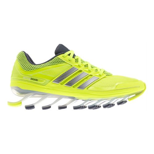Womens adidas springblade Running Shoe - Yellow/Black 10