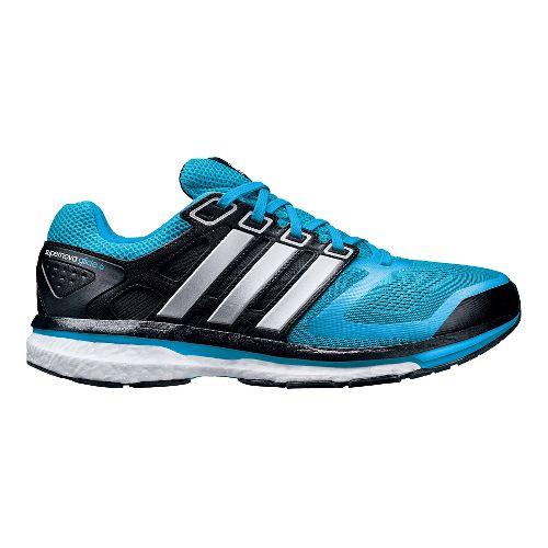 Mens adidas Supernova Glide 6 Boost Running Shoe - Blue/Black 8.5