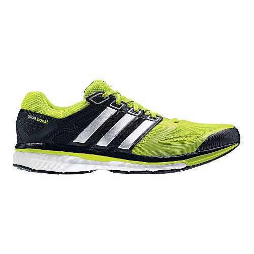 Mens adidas Supernova Glide 6 Boost Running Shoe - Bright Lime 11.5