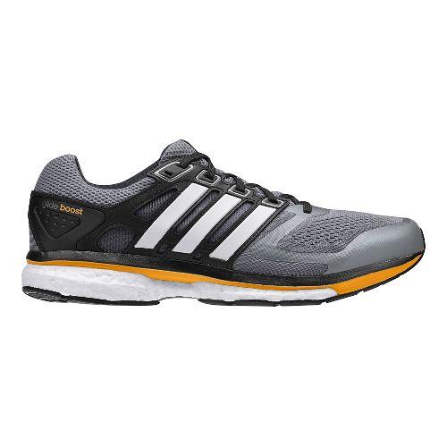 Mens adidas Supernova Glide 6 Boost Running Shoe - Grey/White 10
