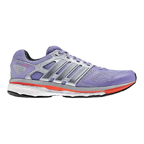 Womens adidas Supernova Glide 6 Boost Running Shoe - Lavender/Grey 7.5