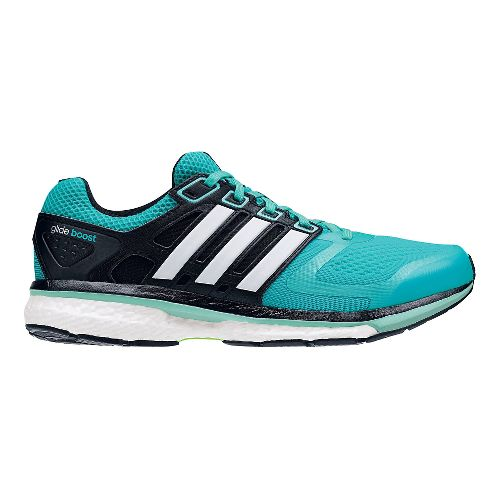 Womens adidas Supernova Glide 6 Boost Running Shoe - Mint/White 7.5