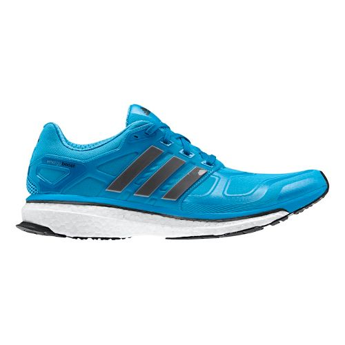 Mens adidas Energy Boost 2 Running Shoe - Blue/Grey 11.5