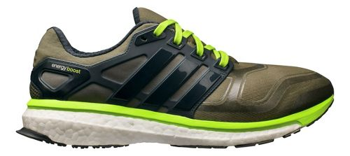 Mens adidas Energy Boost 2 Running Shoe - Earth Green 8