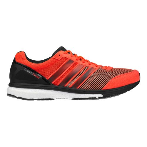 Mens adidas Adizero Boston 5 Boost Running Shoe - Red/Black 9.5