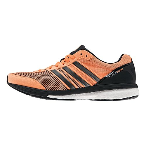 Womens adidas Adizero Boston 5 Boost Running Shoe - Flash Orange 9