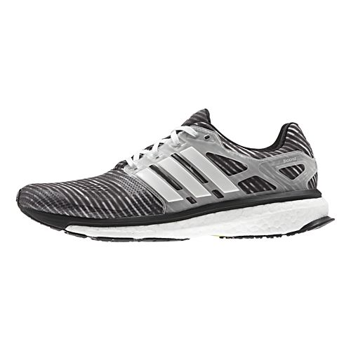 Mens adidas Energy Boost 2 ESM Running Shoe - Black/Grey 9.5