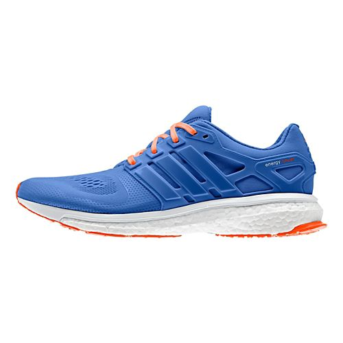 Mens adidas Energy Boost 2 ESM Running Shoe - Blue/Orange 11.5
