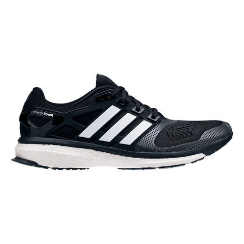 Mens adidas Energy Boost 2 ESM Running Shoe - Black/White 12.5