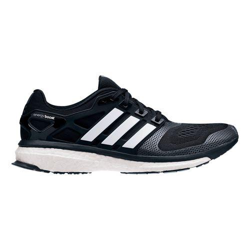 Mens adidas Energy Boost 2 ESM Running Shoe - Black/White 8
