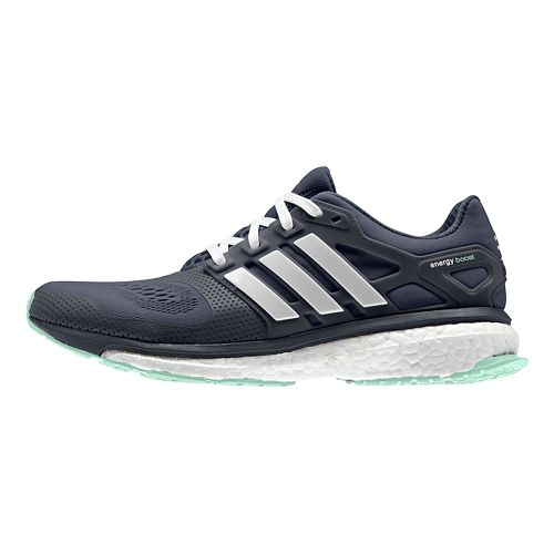 Womens adidas Energy Boost 2 ESM Running Shoe - Navy/Mint 7.5