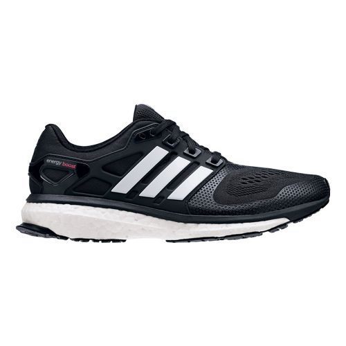 Womens adidas Energy Boost 2 ESM Running Shoe - Black/White 8.5