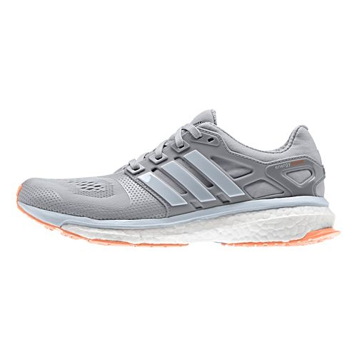 Womens adidas Energy Boost 2 ESM Running Shoe - Grey 10.5