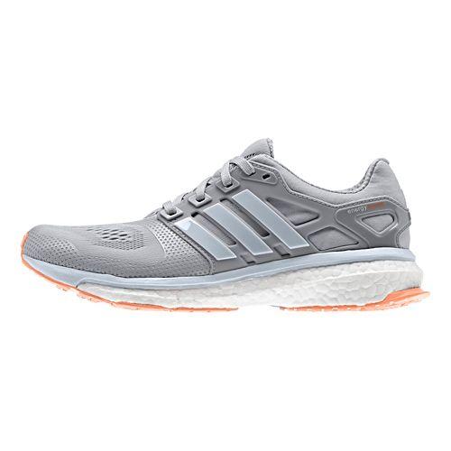 Womens adidas Energy Boost 2 ESM Running Shoe - Grey 9.5