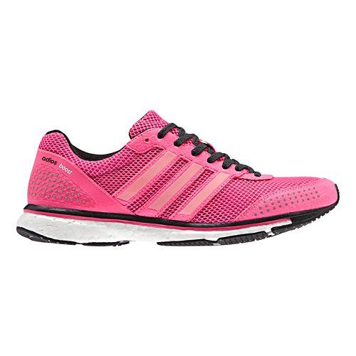 Womens adidas Adizero Adios Boost 2 Running Shoe - Pink/White 6