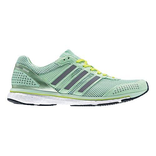 Womens adidas Adizero Adios Boost 2 Running Shoe - Pink/White 8
