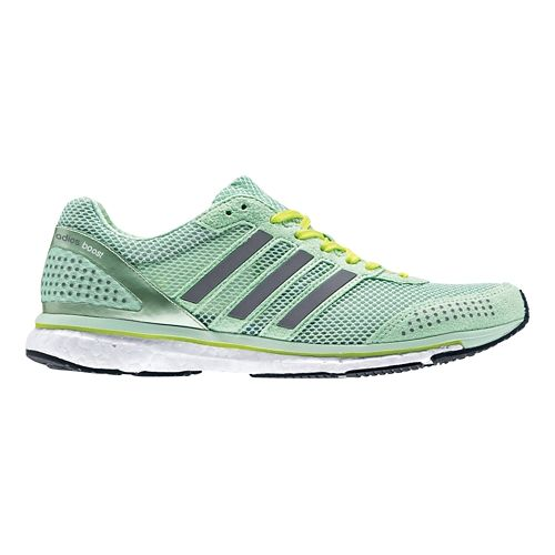 Womens adidas Adizero Adios Boost 2 Running Shoe - Mint/White 8.5