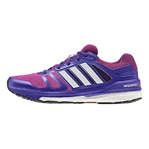 Womens adidas Supernova Sequence 7 Boost Running Shoe - Lavender/Purple 11