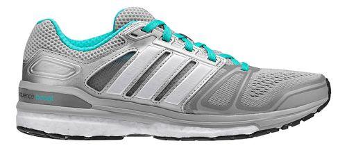 Womens adidas Supernova Sequence 7 Boost Running Shoe - Silver/Mint 6