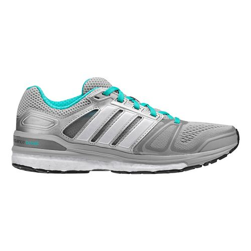 Womens adidas Supernova Sequence 7 Boost Running Shoe - Silver/Mint 9