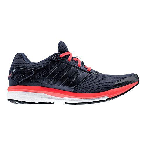 Womens adidas Supernova Glide 7 Boost Running Shoe - Navy/Pink 10