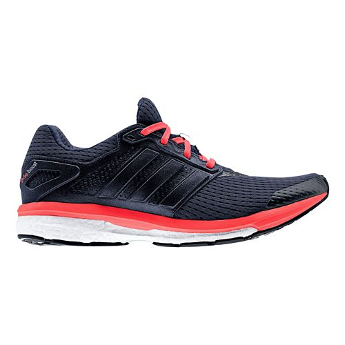 Womens adidas Supernova Glide 7 Boost Running Shoe - Navy/Pink 8