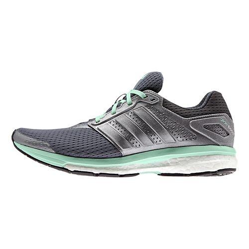 Womens adidas Supernova Glide 7 Boost Running Shoe - Navy/Pink 7.5
