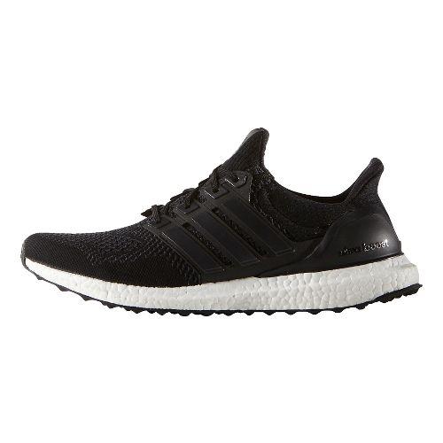 Mens adidas Ultra Boost Running Shoe - Black/Black 12.5
