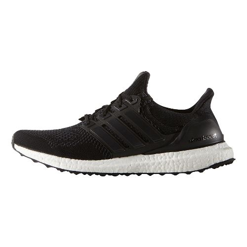 Mens adidas Ultra Boost Running Shoe - Black/Black 8.5