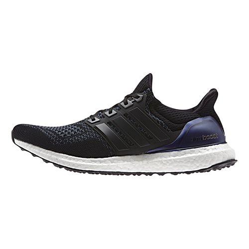 Mens adidas Ultra Boost Running Shoe - Black 10.5