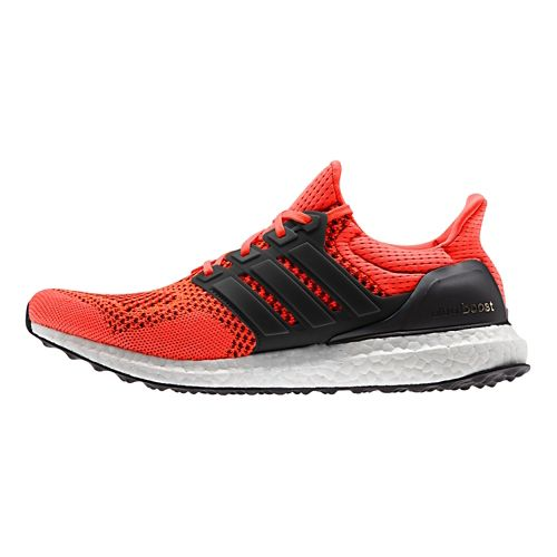 Mens adidas Ultra Boost Running Shoe - Red 10.5