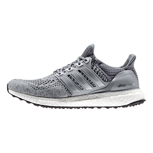 Womens adidas Ultra Boost Running Shoe - Grey/Silver 9.5