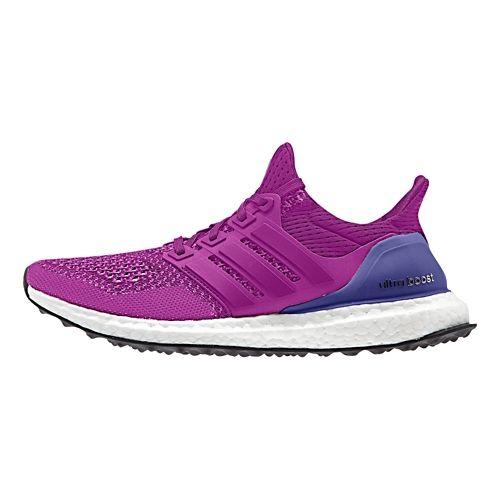 Womens adidas Ultra Boost Running Shoe - Berry 8.5