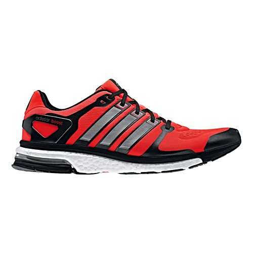 Mens adidas adistar Boost ESM Running Shoe - Red/Black 11