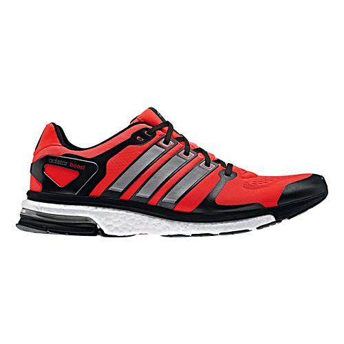 Mens adidas adistar Boost ESM Running Shoe - Red/Black 11.5