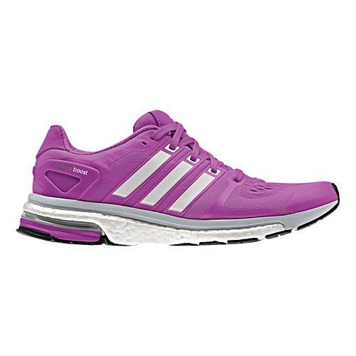 Womens adidas adistar Boost ESM Running Shoe - Lavender/Silver 6.5